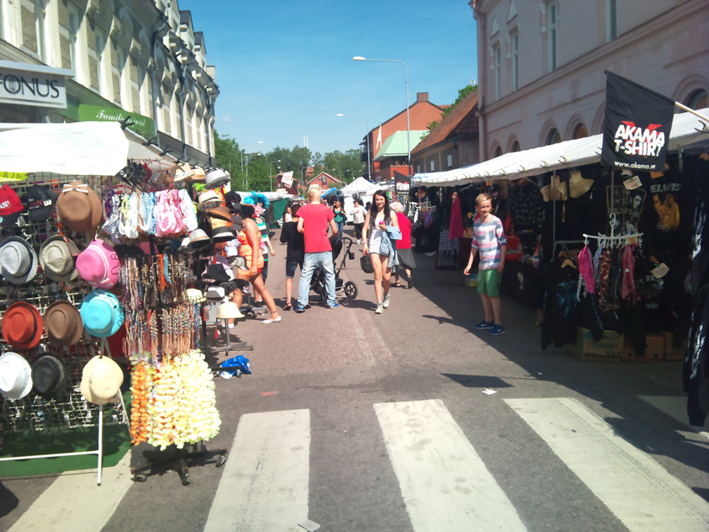 Market in Köping