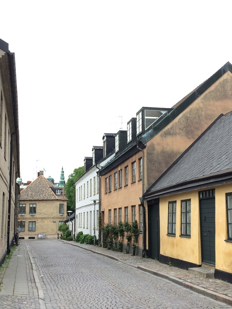 Old parts of Lund