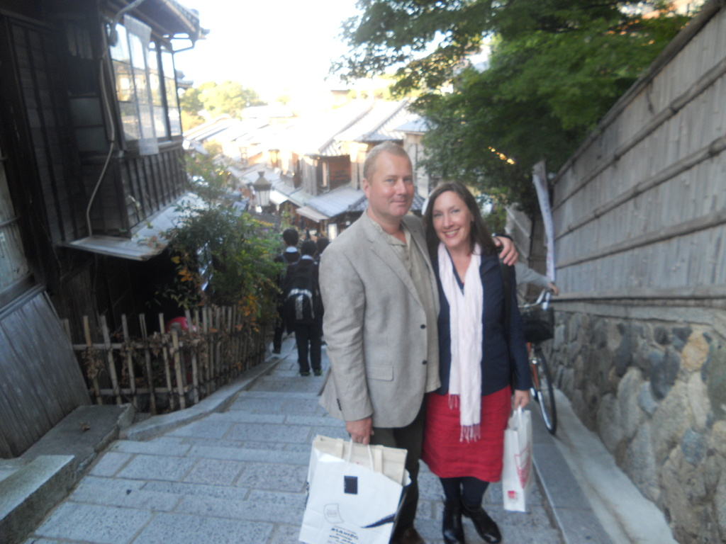 Ulf and Emilia in Kyoto