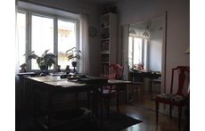The sitting room in our Stockholm flat