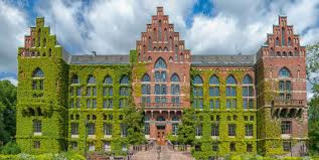 University library in Lund, 10 minutes away