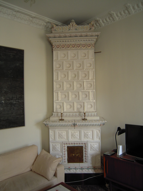 Fireplace in living room (working)