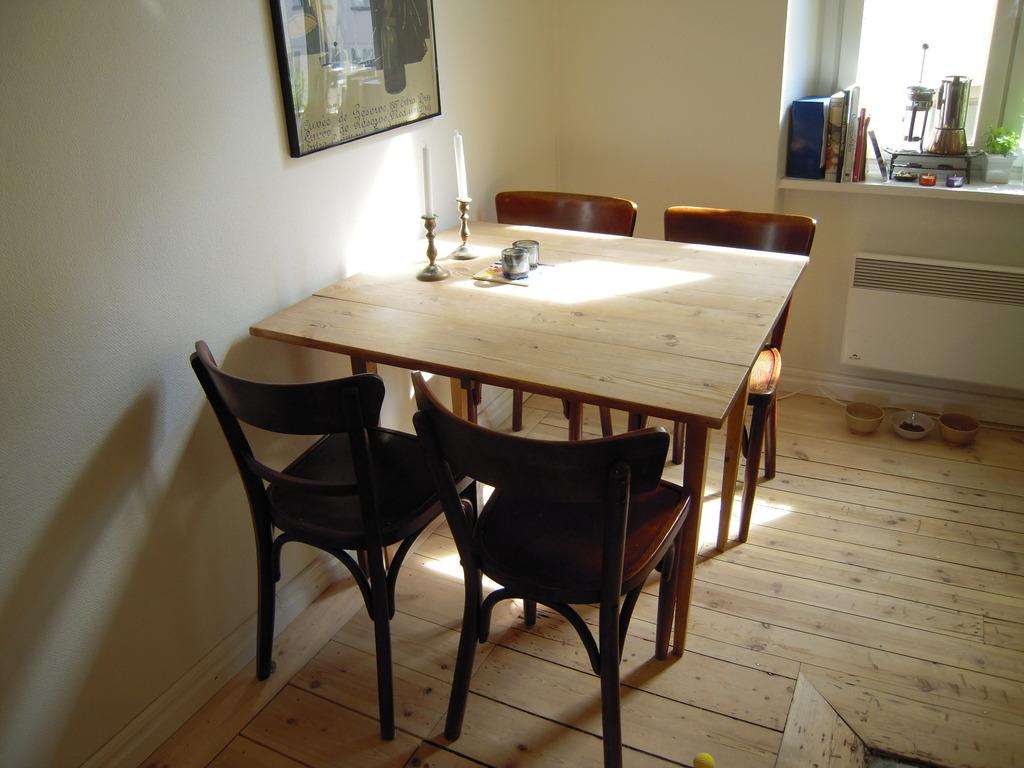 Breakfast tabel in kitchen