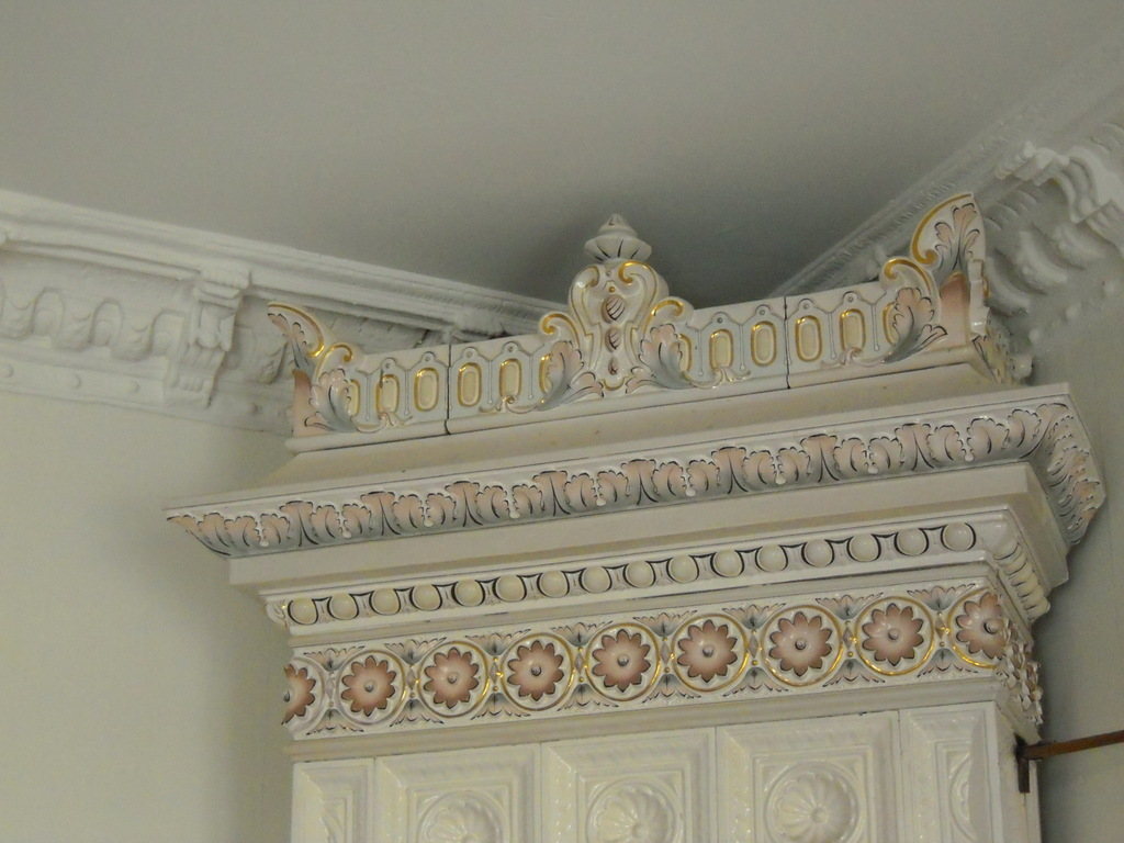 Details from top of fireplace