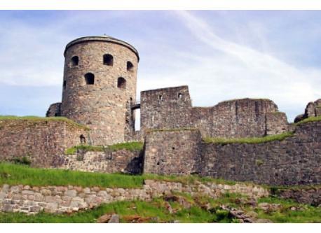 Bohus fästning castle in kungälv centrum