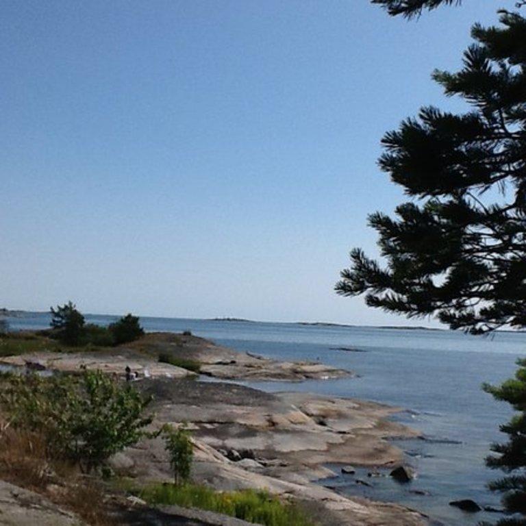 Baltic sea, 1h by car.