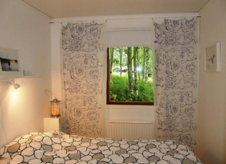 One of the bedrooms in summer house