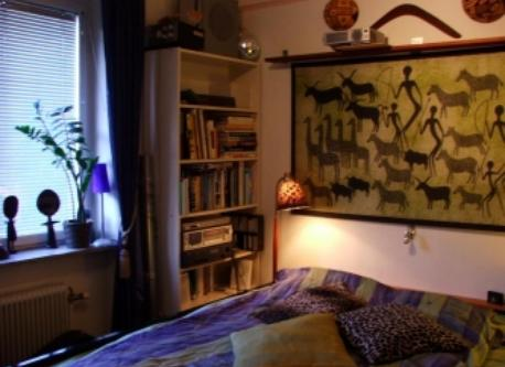 Johannes´bedroom