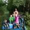 Family rail trolley biking on the hills (50km)