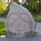 The local runestone in Täby Kyrkby