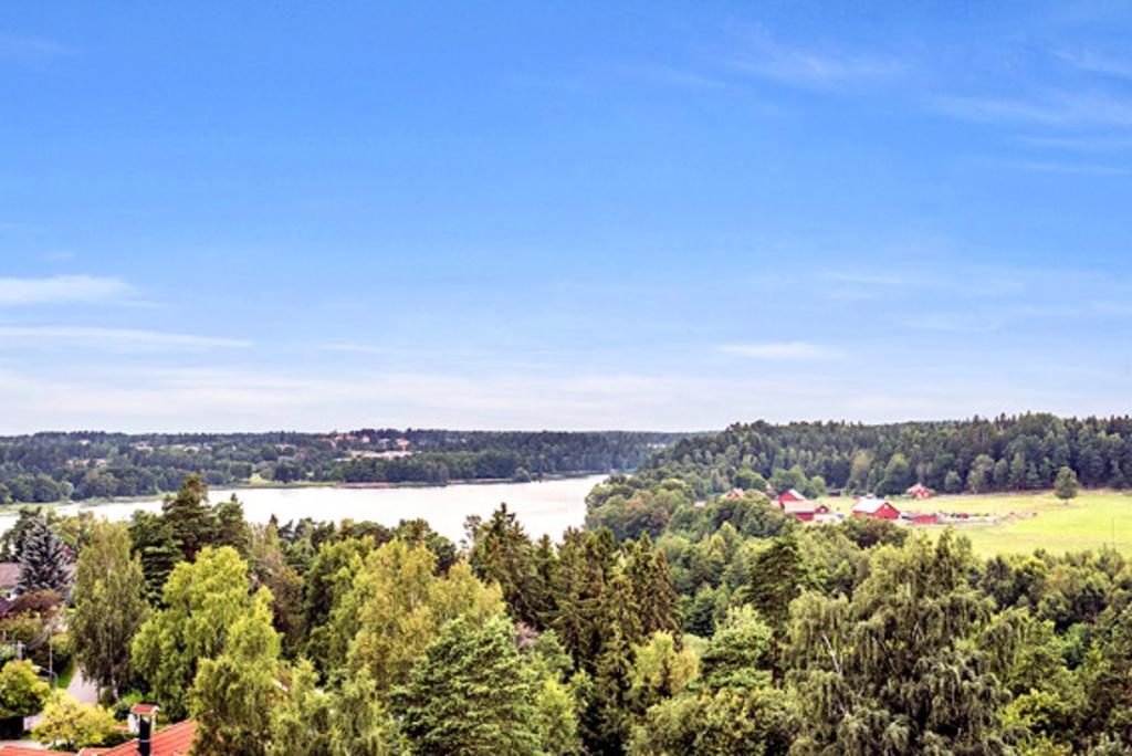 View from the balcony of Rönninge Farm