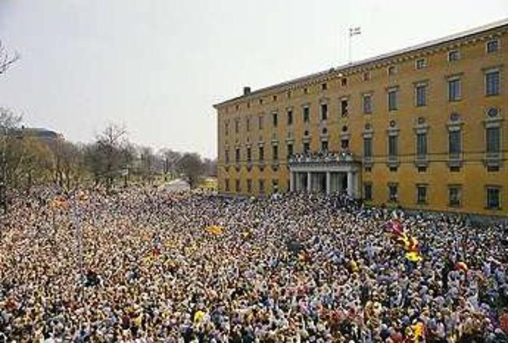 Valborg in Uppsala 30 april every year. The festival for students and all people of Uppsala. It is a big party all day long i...