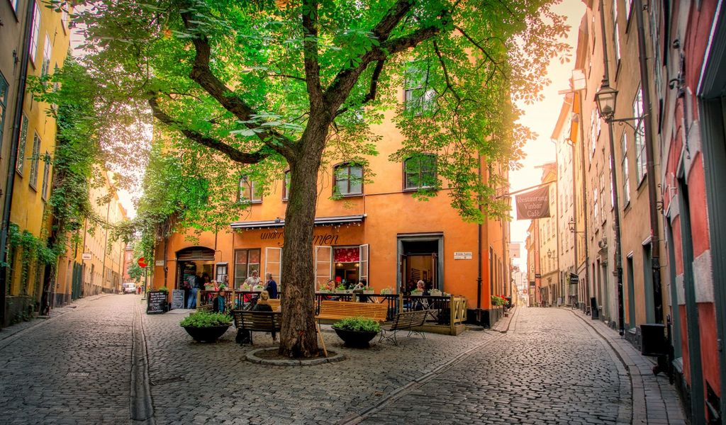 Café in Gamla Stan (Old Town)