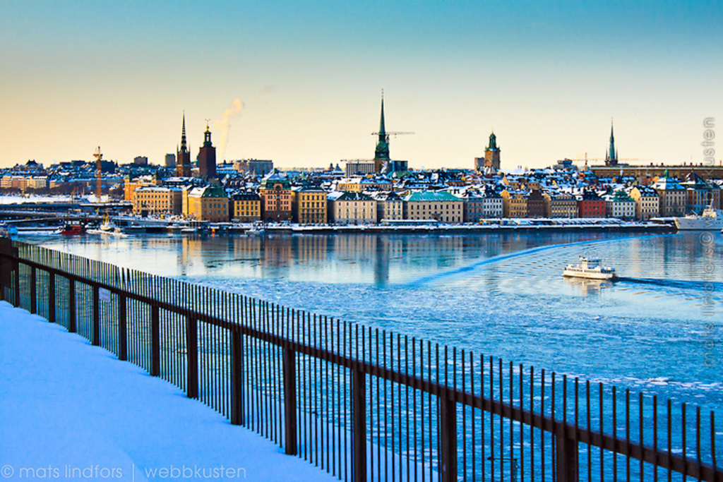 Winter in Stockholm