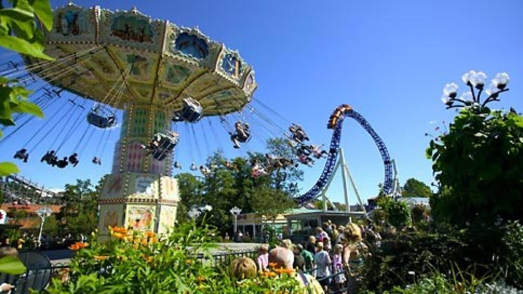 Liseberg amusementpark is a must!
