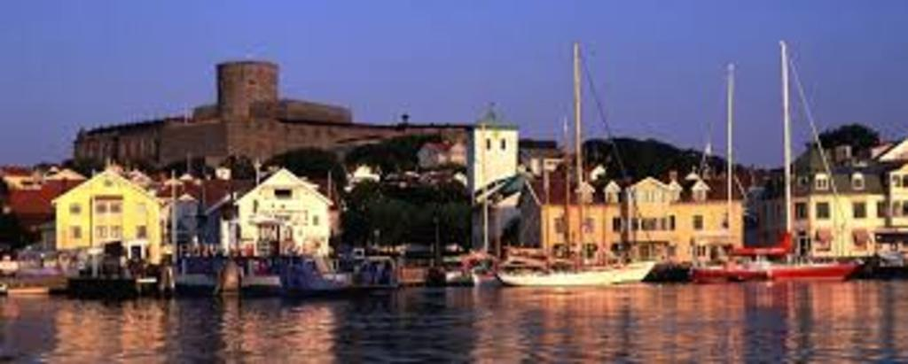 Visit the island of Marstrand with its fortress and beautiful wooden architecture