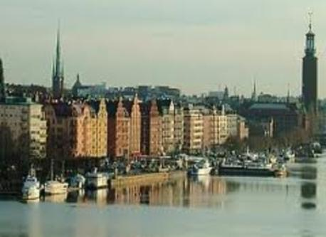The area of Kungsholmen where we live.