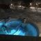 Hot tub (spa) in the garden