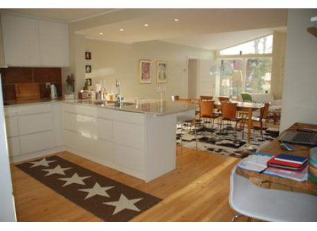 Our large kitchen, 45 m2