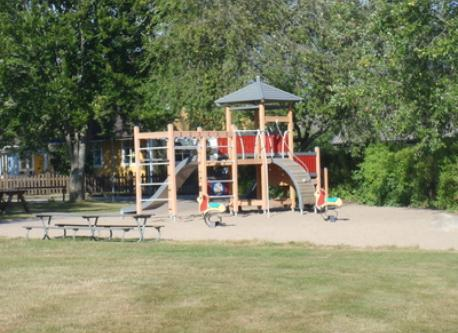 Playground next to our house.