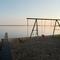Swing-set on the beach