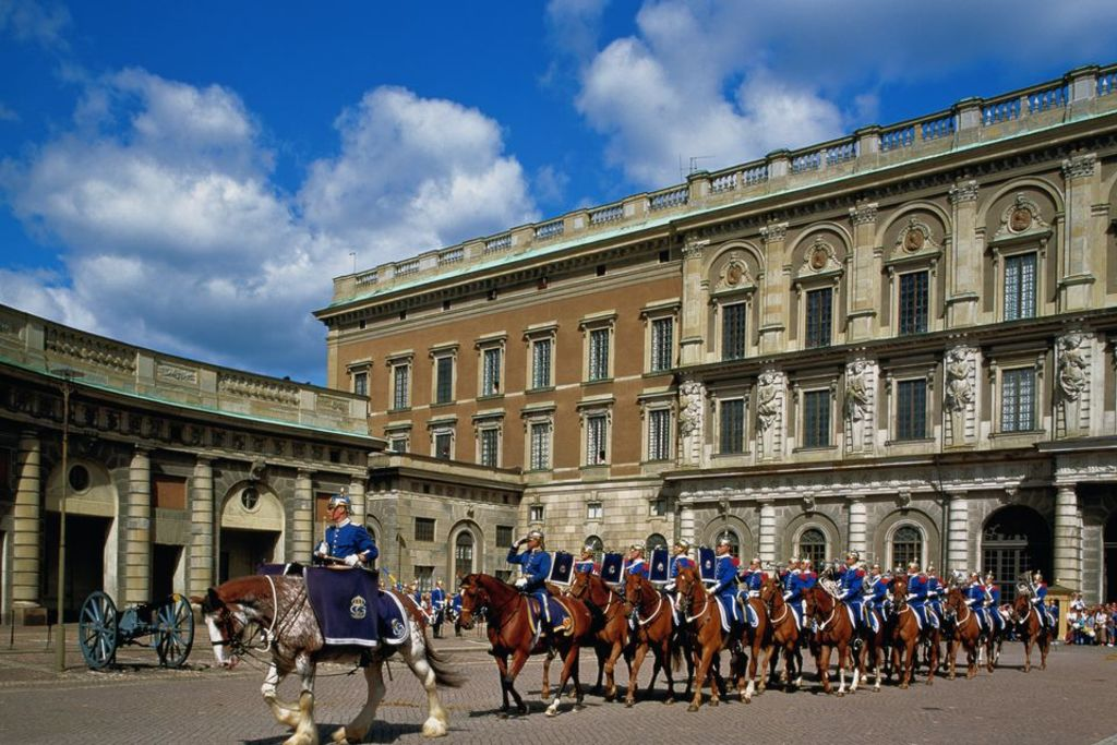 Changing of the Guard at the Royal Palace