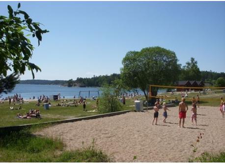 Grisslinge havsbad, 5 minutes from our house