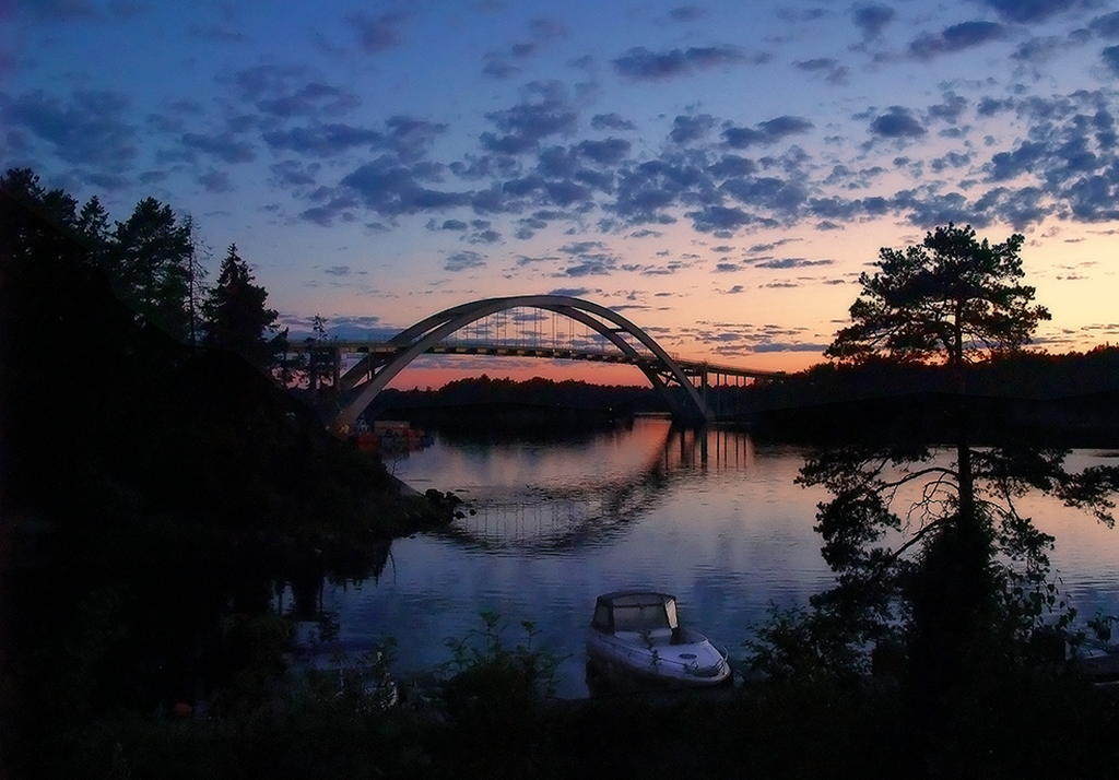 Djurö bridge, Värmdö