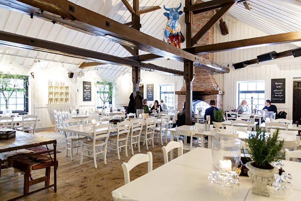 Siggesta gård, restaurant