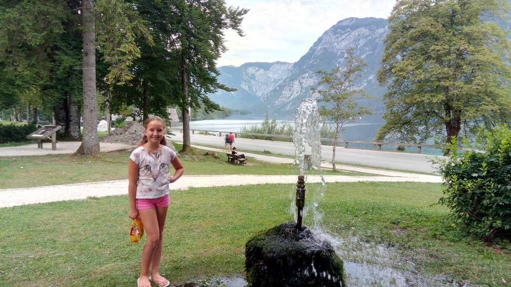 Bohinj - 70 km Northern to Ljubljana (25 km further than Bled) - Lake behind - for swimming