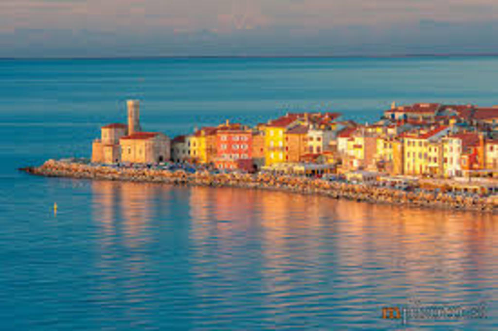 Piran - 130 km Western from Ljubljana - old city