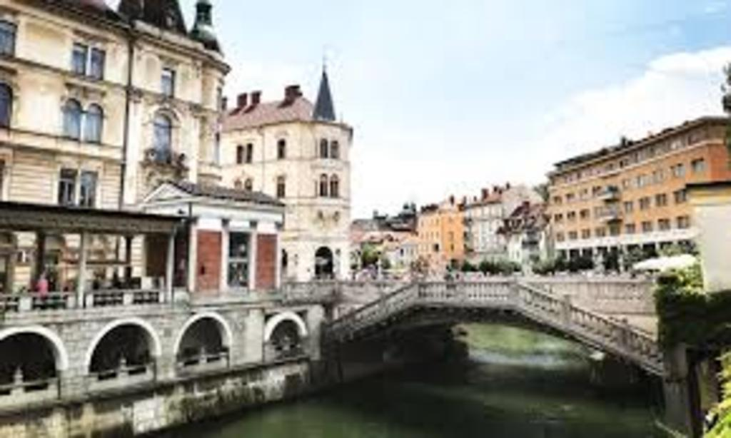 Ljubljana - one of many bridges