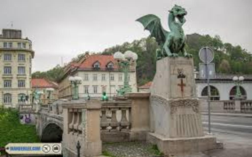 Ljubljana - dragon bridge