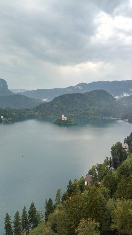 Bled  40 km Northern from Ljubljana - Lake with island