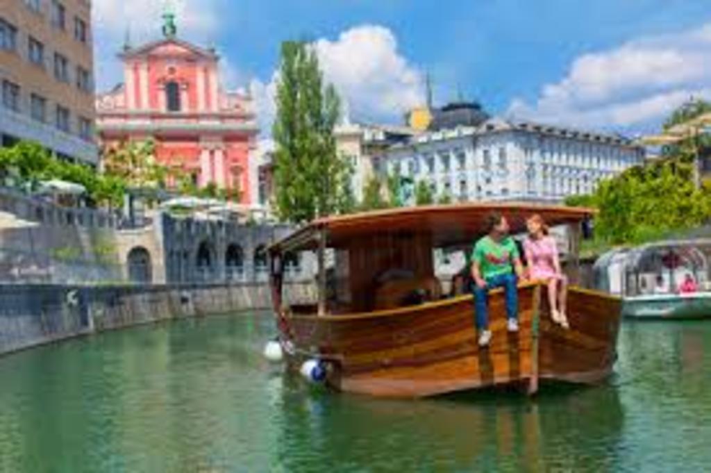 Ljubljana - by turistic boat