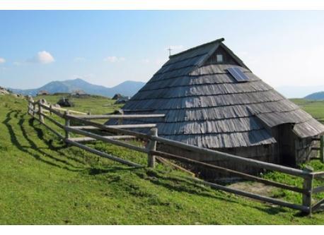 Alpine pastures - Velika planina