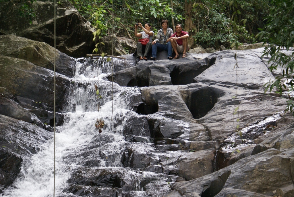 Pa La U waterfall in Kaeng Krachan National Park