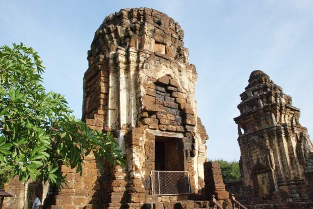 Khmer temples in Petchaburi