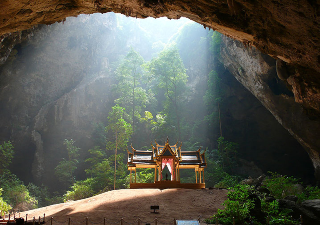 Phraya Nakhon Cave with it's iconic Royal pavilion.