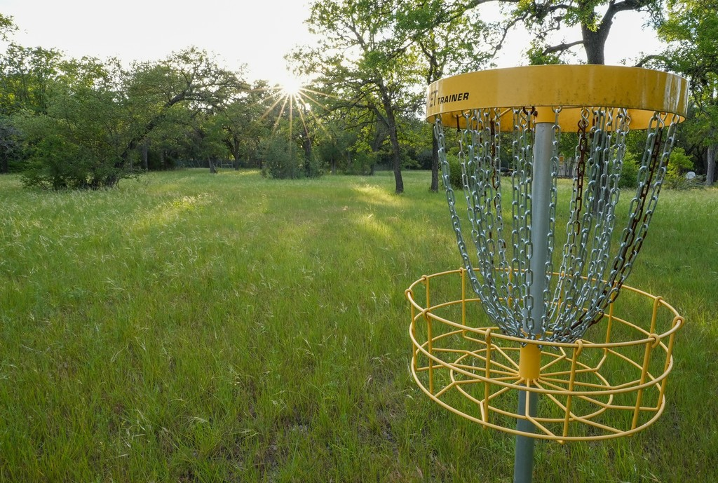 Frisbee Golf Course on the Property