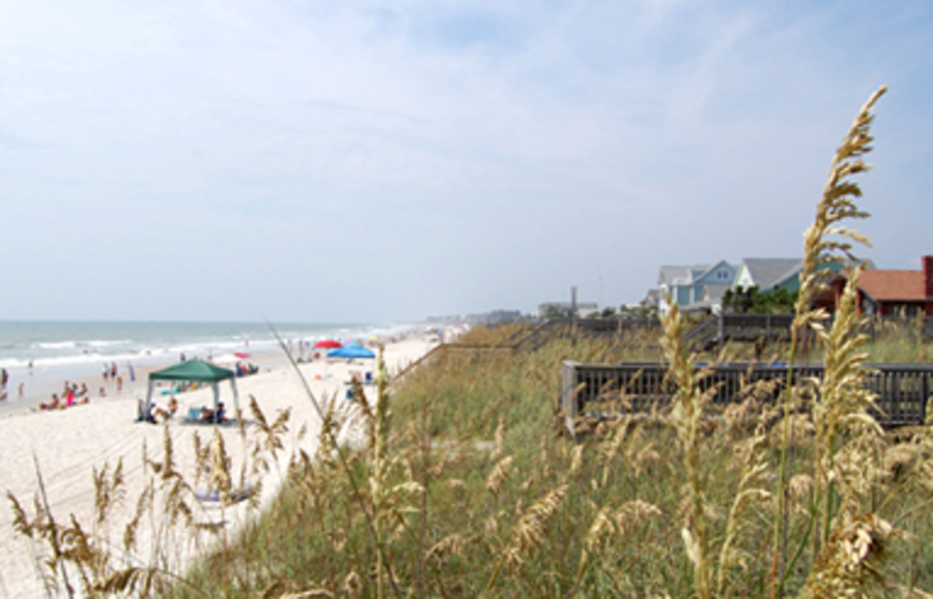Guests use Litchfield by the Sea Beach and Golf Resort's private beach access.
