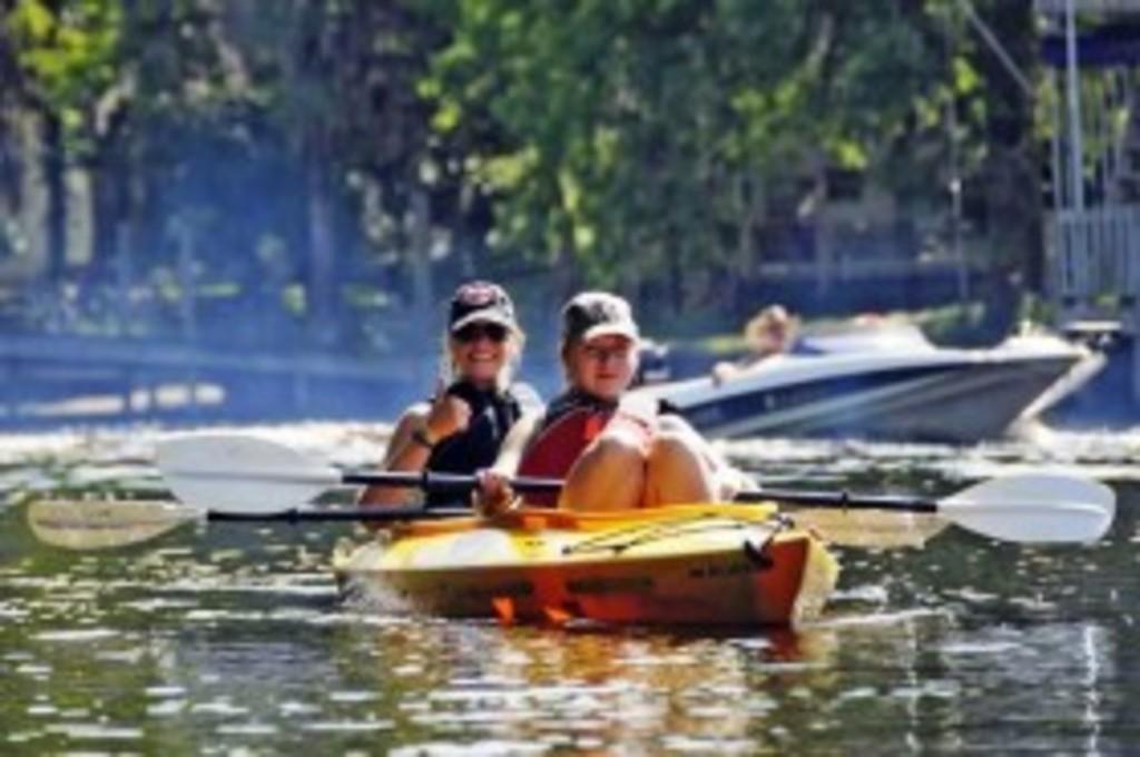Paddle Waccamaw River  Blue Trail