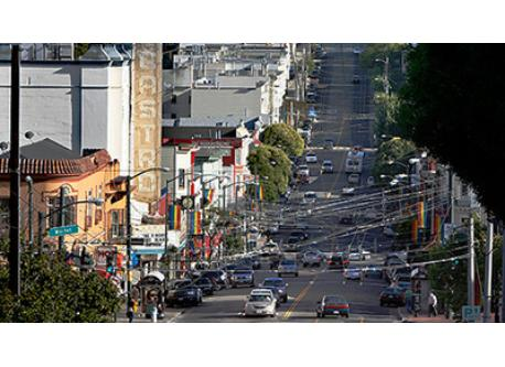 Our home is located near the vibrant Castro commercial district