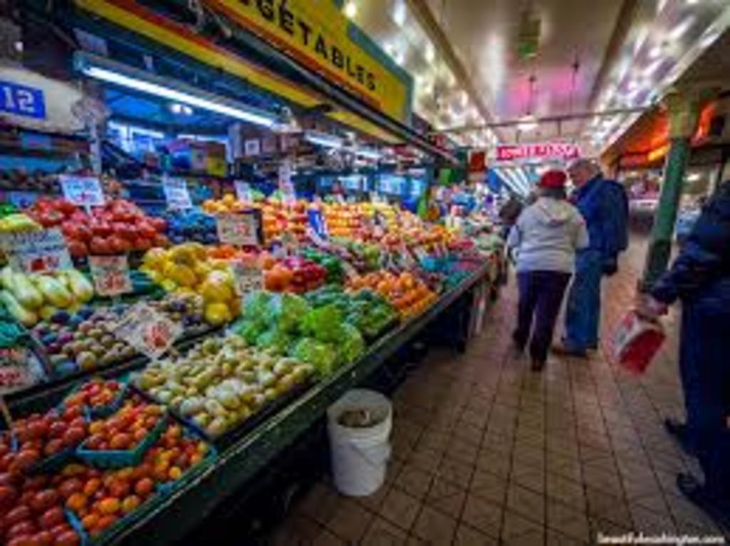 Famous Pikes Place Market