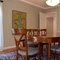 Dining room seats 8; or up to 10 with table extension.