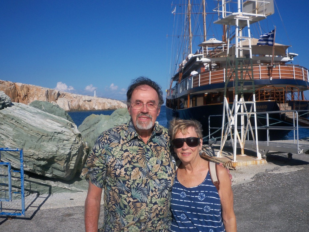 Joan & Hank in Greece