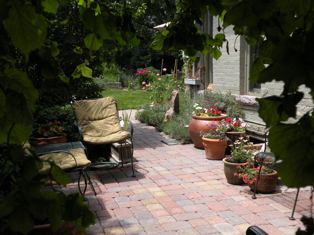 South patio