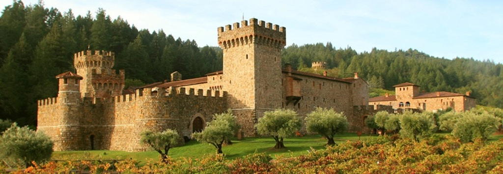 Castello di Amorosa (a winery near Calistoga)