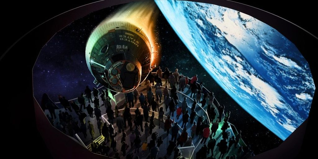 Kennedy Space Center Visitor Complex - 50 minute drive