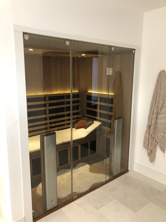 Sauna in the bathroom